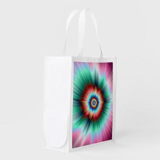 Grocery Bag  Tie Dye Comet