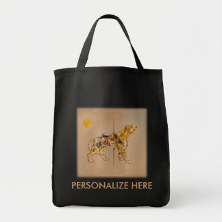 Grocery Bags - Carousel Tiger
