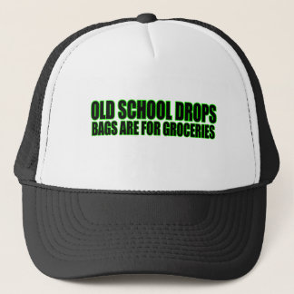 Grocery Bags lowrider Trucker Hat