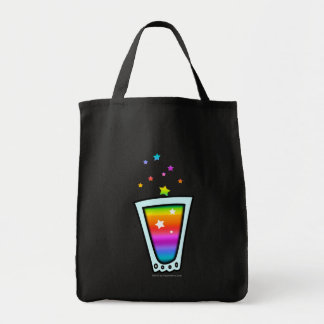 GROCERY BAGS & TOTES - RAINBOW SHOT GLASS
