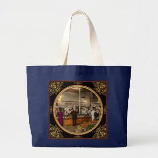 Grocery - Butcher - Sale on pork today 1920 Large Tote Bag