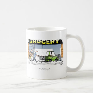 Grocery Cart Coffee Mug