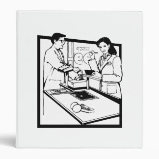 Grocery Clerk Binder