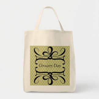 Grocery Day Grocery Tote Bag