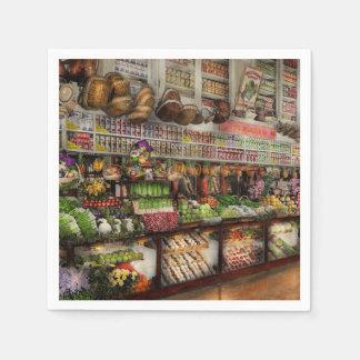 Grocery - Edward Neumann The produce section 1905 Napkin