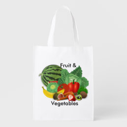 Grocery Fruit And Vegetable Grocery Bag