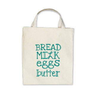 Grocery List Bag