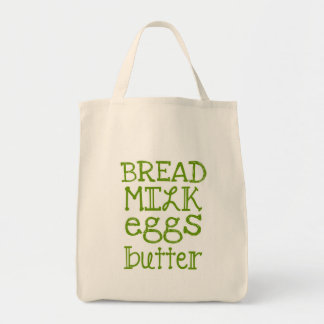 Grocery List Bags