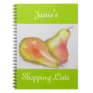 Grocery Lists Notebook