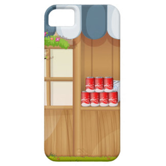 Grocery shop in the park iPhone 5 covers