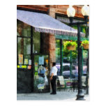 Grocery Store Albany NY Postcard