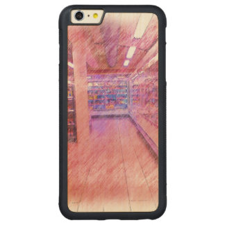 grocery store carved® maple iPhone 6 plus bumper
