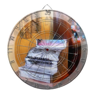 Grocery Store Cash Register Dartboard With Darts