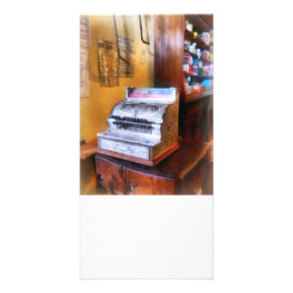 Grocery Store Cash Register Personalized Photo Card