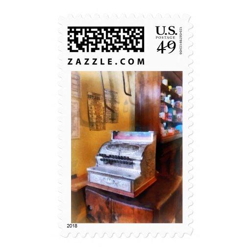 Grocery Store Cash Register Stamp