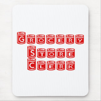 Grocery Store Clerk Mouse Pad