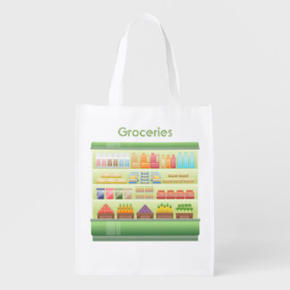 Grocery Store Cooler Reusable Grocery Bag