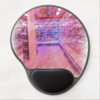 grocery store gel mouse pad
