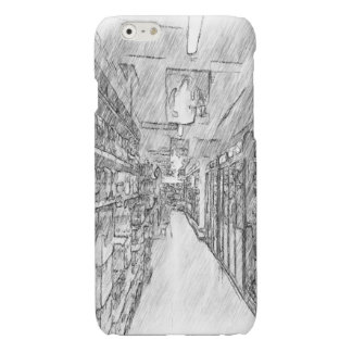 grocery store glossy iPhone 6 case