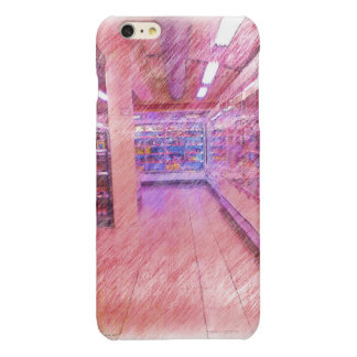grocery store glossy iPhone 6 plus case