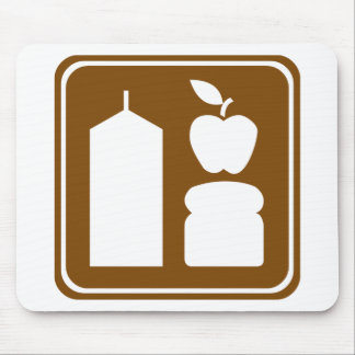 Grocery Store Highway Sign Mouse Pad