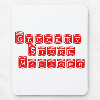 Grocery Store Manager Mouse Pad