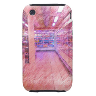 grocery store tough iPhone 3 cover