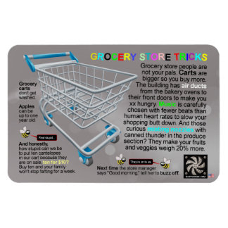 GROCERY STORE TRICKS MAGNET