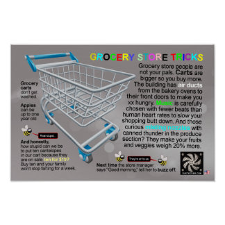 GROCERY STORE TRICKS POSTER