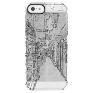 grocery store uncommon clearly™ deflector iPhone 5 case