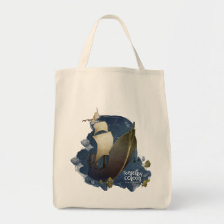 """Grocery Tot """"Forgotten Colours Tote Bag"""