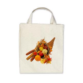 Grocery Tote--Cornucopia Canvas Bag