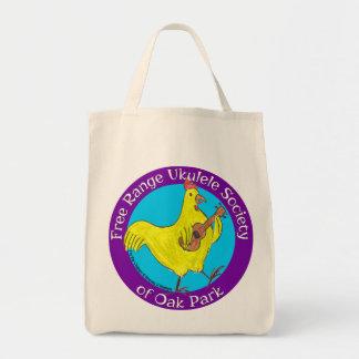 Grocery Tote Free Range Ukulele Society