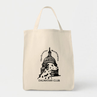 Grocery tote -- GWDC Logo