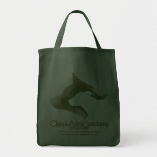 Grocery Tote hunter green Bags