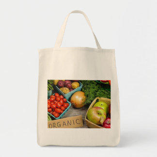 """Grocery Tote """"Paper or Plastic?"""" You'll say, """"No, Canvas Bags"""