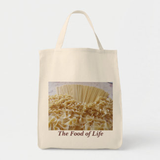 Grocery Tote--Pastas Canvas Bags