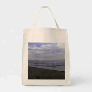Grocery Tote PHOTOGRAPH OF BEACH