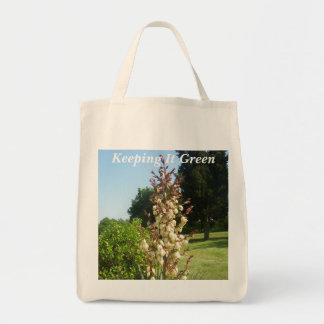 Grocery Tote - Yucca in Bloom - Keeping It Green
