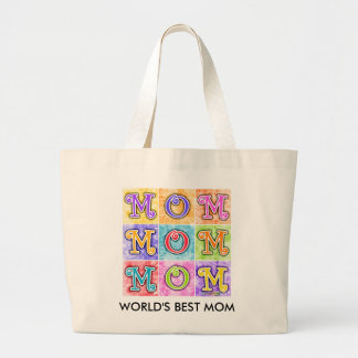 Grocery Totes - MOM Pop Art Tote Bag