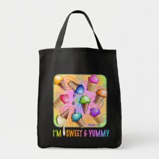 Grocery Totes - Pop Art Ice Cream Cones