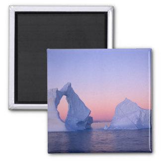 Groenlandia iceberg en la puesta del sol imán para frigorifico
