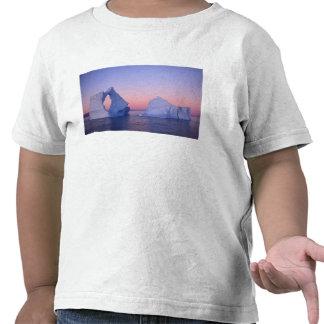 Groenlandia iceberg en la puesta del sol camiseta