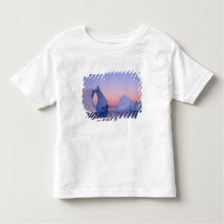 Groenlandia, iceberg en la puesta del sol playera de bebé
