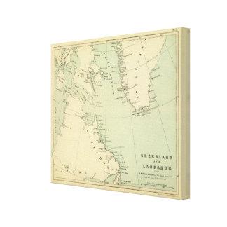 Groenlandia, Labrador Impresión En Lona
