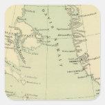 Groenlandia, Labrador Pegatina Cuadrada