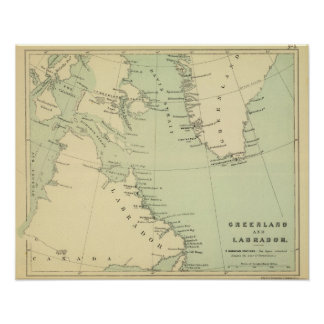Groenlandia, Labrador Póster