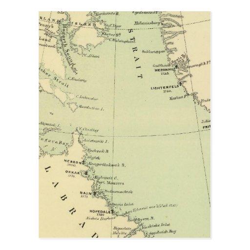 Groenlandia, Labrador Tarjetas Postales