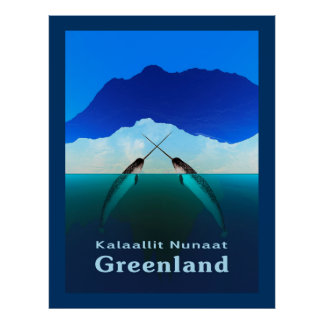 Groenlandia - Narwhal Poster