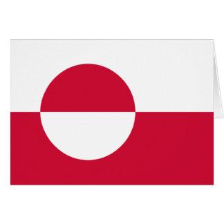 Groenlandia Tarjeta De Felicitación